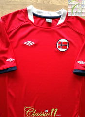 2011/12 Norway Home Football Shirt (M)
