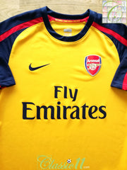 2008/09 Arsenal Away Football Shirt (S)