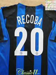 2004/05 Internazionale Home Football Shirt Recoba #20 (L)