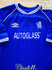 1999/00 Chelsea Home Football Shirt (W) (Size 14)