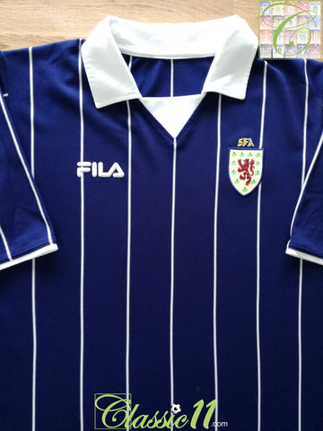 2002/03 Scotland Home Football Shirt (L)