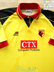 1996/97 Watford Home Football Shirt (XXL)
