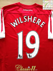 2011/12 Arsenal Home Premier League Football Shirt Wilshere #19 (M)