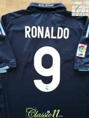 2009/10 Real Madrid Away La Liga Football Shirt Ronaldo #9 (L)