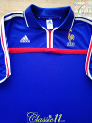 2000/01 France Home Football Shirt (XL)
