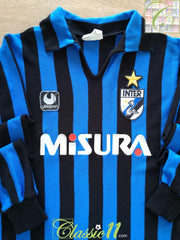 1984/85 Internazionale Home Football Shirt. (B)