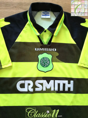 1996/97 Celtic Away Football Shirt (XL)