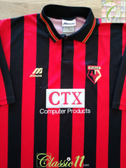 1996/97 Watford Away Football Shirt (XXL)