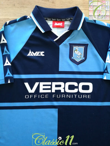 1999/00 Wycombe Wanderers Home Football Shirt (M)