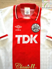 1989/90 Ajax Home Football Shirt (B)