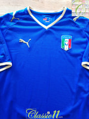 2008/09 Italy Home Football Shirt (L)
