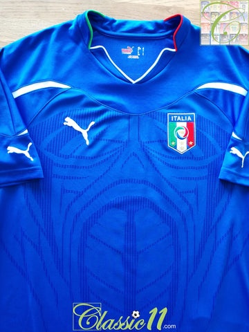 2010/11 Italy Home Football Shirt (L)