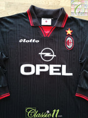 1997/98 AC Milan 3rd Football Shirt. (L)
