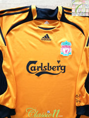 2006/07 Liverpool Goalkeeper Football Shirt (M)
