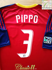 2010 Real Salt Lake Home MLS Football Shirt Pippo #3 (XL)