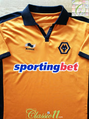 2010/11 Wolverhampton Wanderers Home Football Shirt (S)
