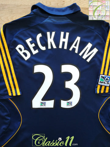 2007 LA Galaxy Away MLS Football Shirt Beckham #23 (M)
