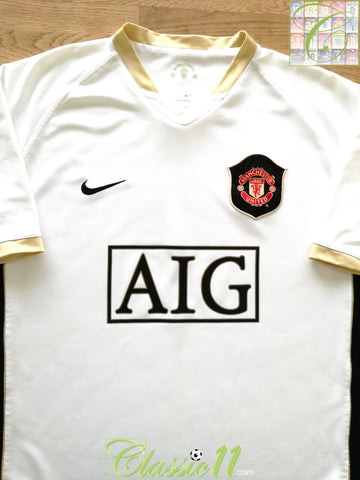 2006/07 Man Utd Away Football Shirt (XL)