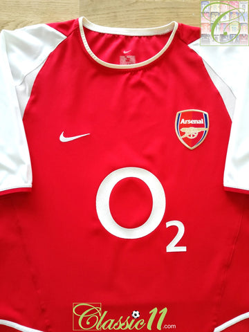 2002/03 Arsenal Home Football Shirt (XXL)