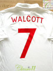 2009/10 England Home Football Shirt Walcott #7 (M)