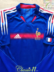 2004/05 France Home Player Issue Football Shirt (M)