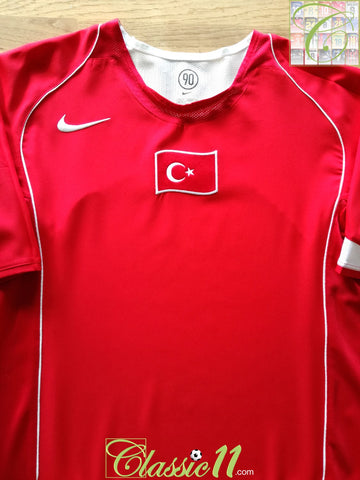 2004/05 Turkey Home Football Shirt (XL)
