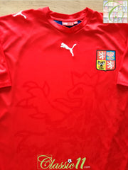2006/07 Czech Republic Home Basic Football Shirt (M)