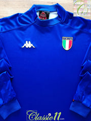 1999/00 Italy Home Football Shirt. (XXL)
