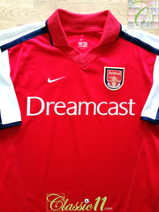 2000/01 Arsenal Home Football Shirt (S)