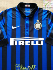 2011/12 Internazionale Home Football Shirt (S)
