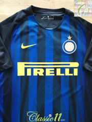 2016/17 Internazionale Home Football Shirt (M)