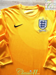 2013 England Goalkeeper 150th Anniversary Football Shirt. (S)