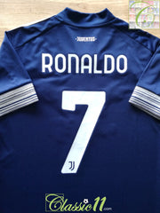 2020/21 Juventus Away Football Shirt Ronaldo #7 (M)