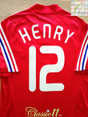 2007/08 France Away Football Shirt Henry #12 (M)
