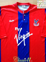 1990/91 Crystal Palace Home Football Shirt (M)