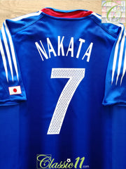 2004/05 Japan Home Football Shirt Nakata #7 (M)