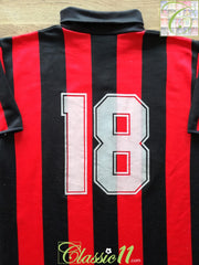 1987/88 AC Milan Home Football Shirt #18 (S)