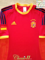 2002/03 Spain Home Football Shirt (L)