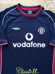 2000/01 Man Utd 3rd Football Shirt (XL)