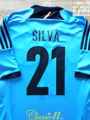 2012/13 Spain Away Football Shirt Silva #21 (M)