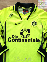 1996/97 Borussia Dortmund Home Football Shirt. (B)