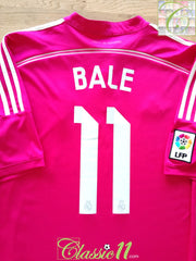 2014/15 Real Madrid Away La Liga Football Shirt Bale #11 (L)