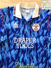 1991/92 Southampton Away Football Shirt (M)