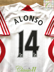 2007/08 Liverpool Away Premier League Football Shirt Alonso #14 (B)