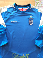 2004/05 England Goalkeeper Football Shirt (B)