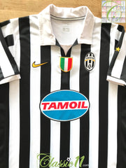2006/07 Juventus Home Serie A Football Shirt (M)