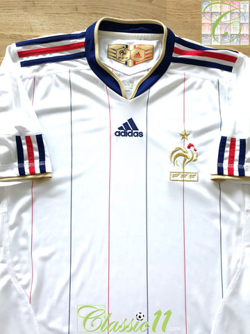 2009/10 France Away Football Shirt (S)