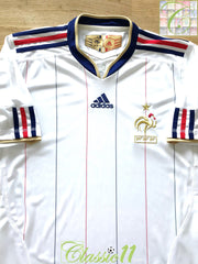 2009/10 France Away Football Shirt (XL)