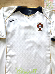 2004/05 Portugal Away Football Shirt (L)