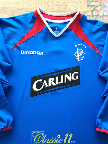 2003/04 Rangers Home Football Shirt. (XL)